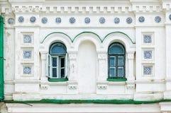 Detalhe da janela do monastério de Lavra em Kiev Foto de Stock