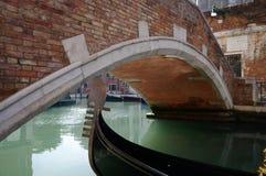 Um detalhe venetian da gôndola Fotos de Stock Royalty Free