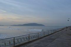 Um dia bonito na praia Imagens de Stock Royalty Free