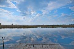 Um dia bonito para pescar Imagem de Stock