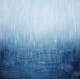 Um dia chuvoso Imagem de Stock Royalty Free