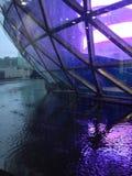 Um dia chuvoso foto de stock