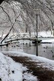 Um dia de invernos imagens de stock