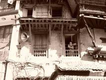 Um dia de verão quente em Nepal Kathmandu Imagem de Stock