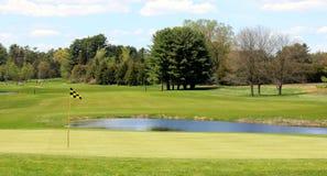Um dia do golfe Imagens de Stock Royalty Free
