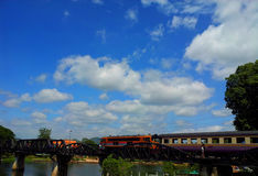 Um dia em Kanchanaburi Fotografia de Stock