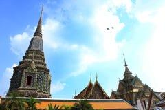 Um dia em Wat Pho fotografia de stock royalty free