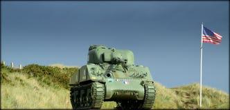 Um dia longo em Normandy Imagem de Stock Royalty Free