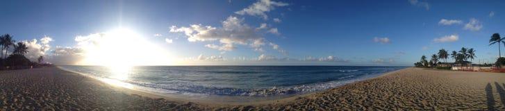 Um dia na praia Fotografia de Stock Royalty Free