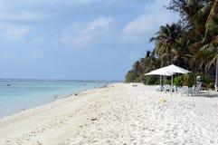 Um dia na praia Imagem de Stock