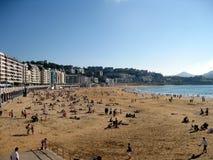 Um dia na praia Fotografia de Stock