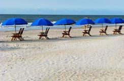 Um dia na praia Imagem de Stock Royalty Free