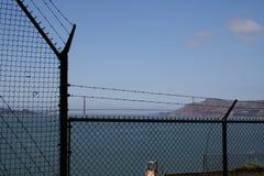 Um dia na pris?o de Alcatraz fotos de stock royalty free