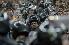 Um dia no trabalho para as forças policiais