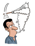 Fumar é um assassino Imagem de Stock Royalty Free