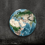 Um die Welt Lizenzfreie Stockfotografie