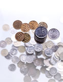Um dinheiro do punhado Imagens de Stock