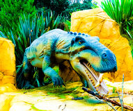 Um dinossauro foto de stock royalty free