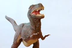 Um dinossauro de Rex do Tyrannosaurus Foto de Stock
