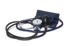 Um dispositivo para medir a pressão sanguínea Imagens de Stock
