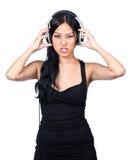Um DJ médio Foto de Stock Royalty Free