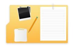 Um dobrador aberto Imagens de Stock