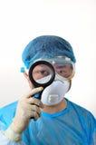 Um doutor na observação Foto de Stock