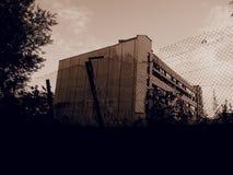 Um edifício abandonado velho Fotografia de Stock