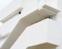 Um edifício branco Imagem de Stock
