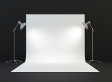Um estúdio da fotografia fotografia de stock royalty free