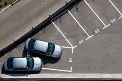 Um estacionamento do lugar fotografia de stock