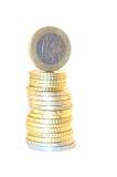 Um euro Imagem de Stock