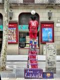 Um executor da rua Fotos de Stock Royalty Free