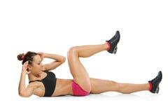 Um exercício atrativo da mulher Foto de Stock Royalty Free