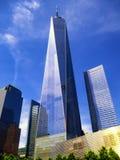 Um exertior do World Trade Center Fotos de Stock Royalty Free