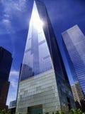 Um exertior do World Trade Center Imagens de Stock