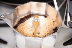 Um fabricante do coffe foto de stock royalty free