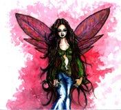 Um Fairy cor-de-rosa Fotografia de Stock