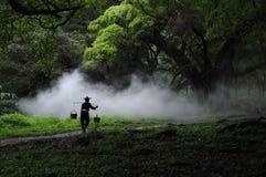Um fazendeiro Foto de Stock Royalty Free