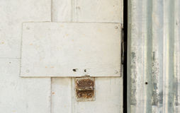 Um fechamento oxidado Imagem de Stock