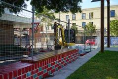 Um fim acima da ideia da construção em Perth, Austrália Ocidental imagens de stock