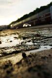 Um fim acima da terra Fotografia de Stock
