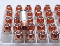 Um fim acima de 40 bala do calibre Imagens de Stock