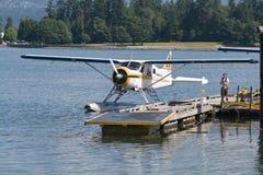 Um floatplane em Vancôver Imagem de Stock Royalty Free