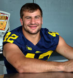 UM football player 42 Ben Gedeon Royalty Free Stock Photography