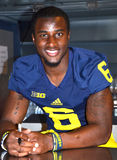 UM football player 6 Raymon Taylor Stock Photo