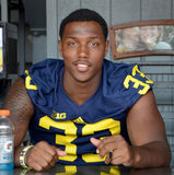 UM football player 33 Taco Charlton Stock Image