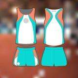Um formulário atlético profissional para o atletismo Imagem isolada ilustração royalty free