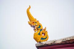Um fragmento da decoração do templo Foto de Stock Royalty Free