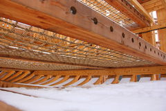 Um fragmento de um navio de madeira Imagem de Stock Royalty Free